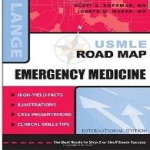 9780071104784: LANGE USMLE ROAD MAP EMERGENCY MEDICINE,2008