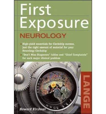 9780071104906: First Exposure to Neurology (First Exposure)