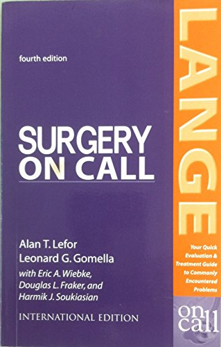 9780071104944: Surgery On Call