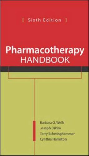 9780071105033: Pharmacotherapy Handbook