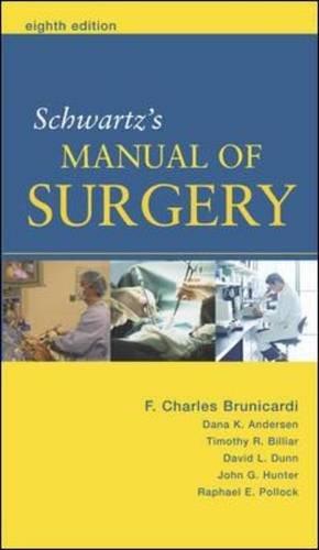 9780071105187: Schwartz's Principles of Surgery Companion Handbook