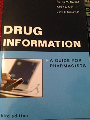 9780071105484: Drug Information: A Guide for Pharmacists