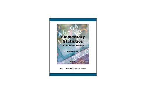 9780071105903: Elementary Statistics: A Step by Step Approach, 6th Edition