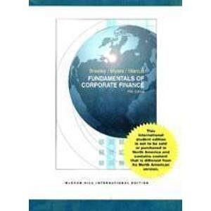 9780071105927: FUNDAMENTALS OF CORPORATE FINANCE.