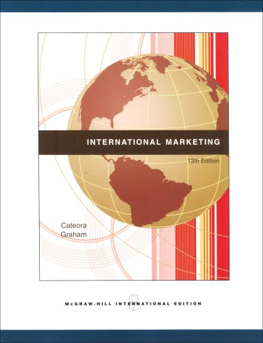 9780071105941: International Marketing, 13th Edition