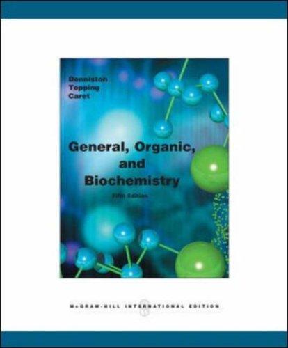 9780071105972: General, Organic & Biochemistry