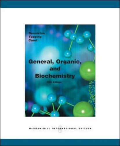 9780071105972: General, Organic and Biochemistry