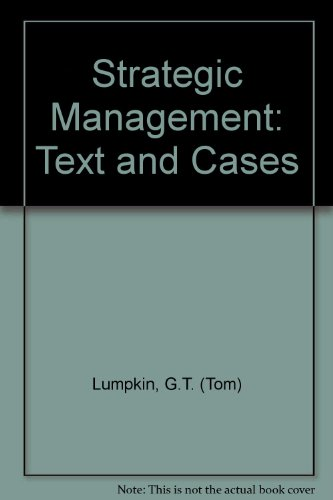 9780071105989: Strategic Management: Text and Cases