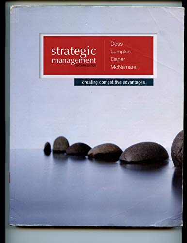 9780071105996: Strategic Management: Creating Competitive Advantages