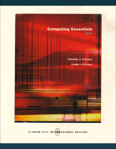 9780071106139: Computing Essentials 2006 Complete Edition with Student CD