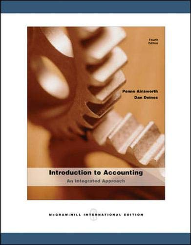9780071106245: Introduction to Accounting: An Integrated Approach
