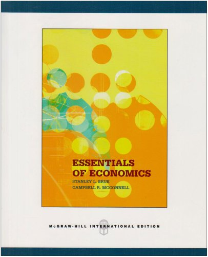 9780071106344: Essentials of Economics