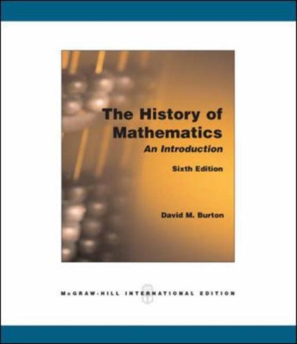 9780071106351: The History of Mathematics: An Introduction