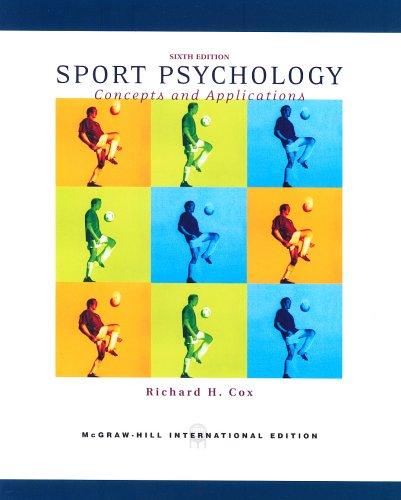 9780071106429: Sport Psychology
