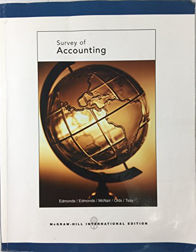 9780071106504: Survey of Accounting