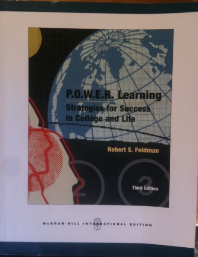 9780071106528: P.O.W.E.R. Learning: Strategies for Success in College and Life