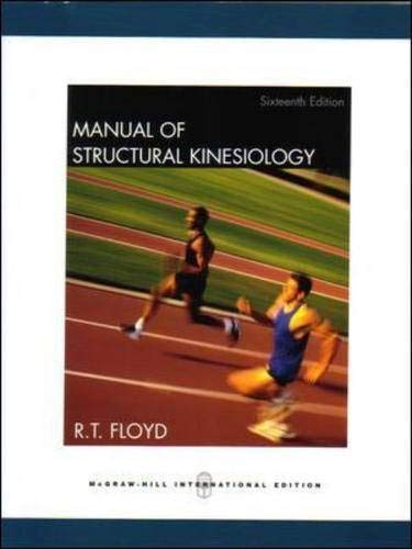 9780071106559: Manual of Structural Kinesiology
