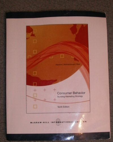 9780071106689: Consumer Behavior (building marketing strategy 10th International Edition)
