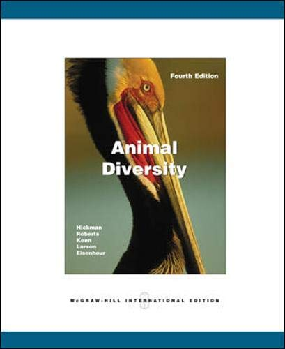 9780071106702: Animal Diversity