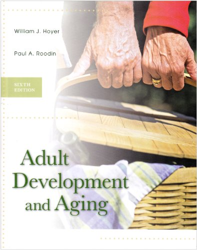 9780071106733: Adult Development and Aging