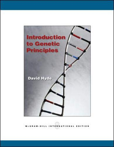 9780071106757: Introduction to Genetic Principles
