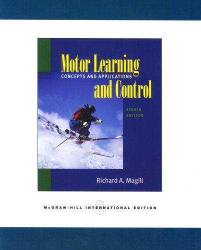 9780071106979: Motor Learning and Control: Concepts and Applications