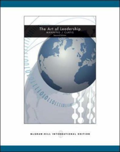 9780071107006: The Art of Leadership