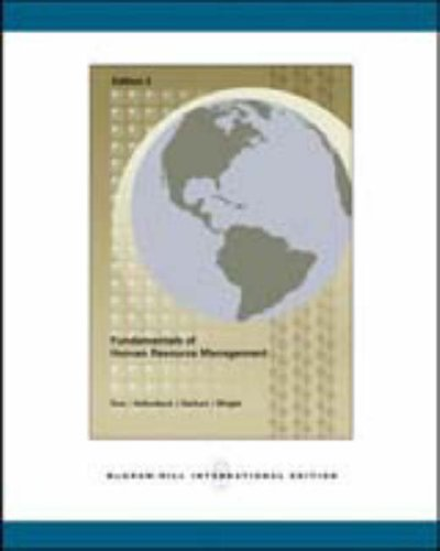 9780071107075: Fundamentals of Human Resource Management