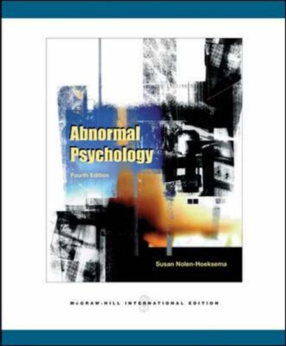 9780071107082: Abnormal Psychology