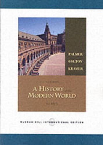 9780071107136: A History of the Modern World, Volume 1