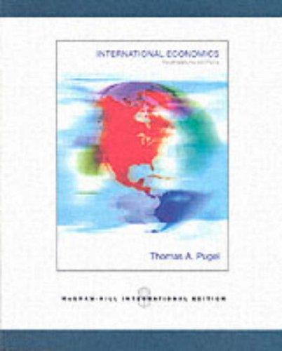 9780071107273: International Economics