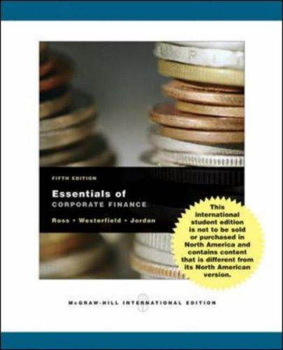 9780071107341: Essentials of Corporate Finance