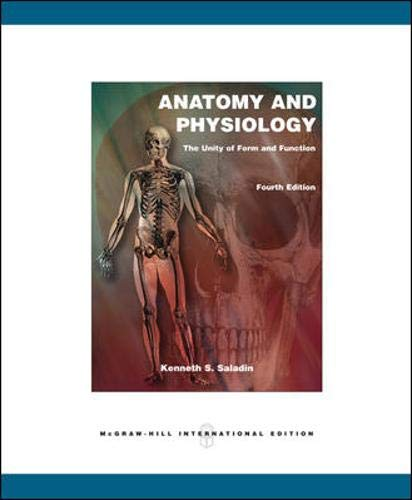 9780071107372: Anatomy and Physiology: The Unity of Form and Function