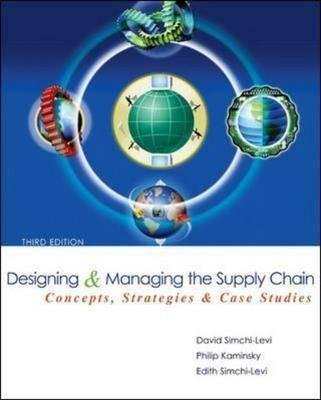 9780071107501: Designing and Managing the Supply Chain