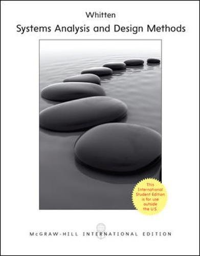 Systems Analysis and Design for the Global: Lonnie D. Bentley