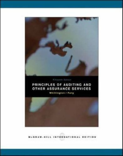 9780071107679: Principles of Auditing and Other Assurance Services