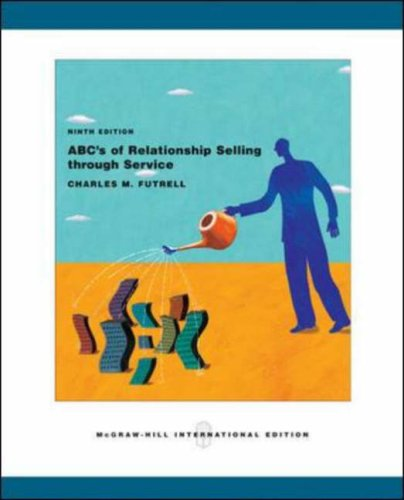 9780071107761: ABC's of Relationship Selling