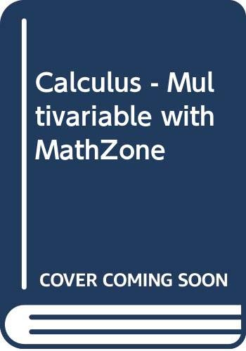 9780071107877: Calculus - Multivariable with MathZone