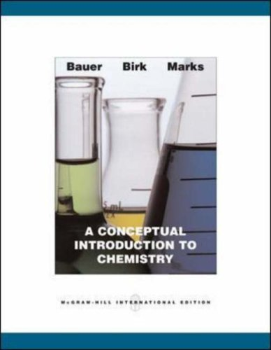 9780071107945: A Conceptual Introduction to Chemistry: AND ARIS