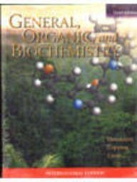 9780071107952: General, Organic and Biochemistry