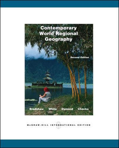 9780071107990: Contemporary World Regional Geography: With Interactive World CD