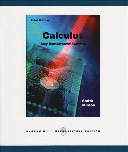 9780071108072: Calculus: With MathZone: Early Transcendental Functions