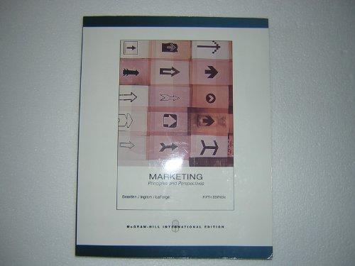 9780071108119: Marketing: Principles & Perspectives. William Bearden, Thomas Ingram, Raymond Laforge
