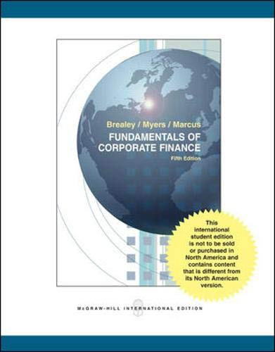 9780071108133: Fundamentals of Corporate Finance + Student CD + Standard & Poor's Educational Version of Market Insight: WITH Student CD AND Standard & Poor's Educational Version of Market Insight