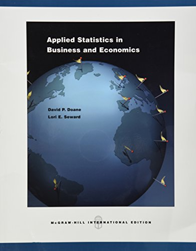 9780071108140: Applied Statistics in Business and Economics