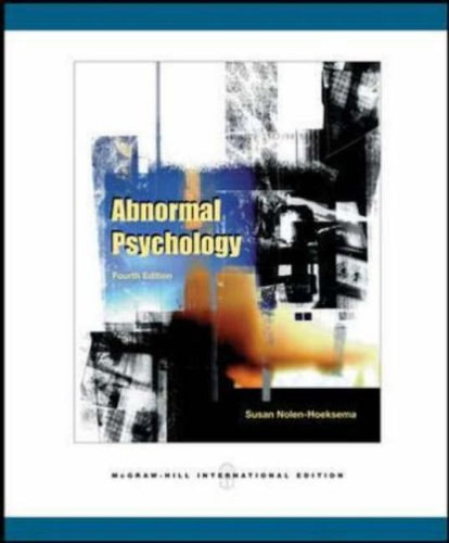 9780071108232: Abnormal Psychology: With MindMap CD-ROM and PowerWeb
