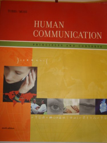9780071108324: Human Communication: Principles and Contexts with PowerWeb