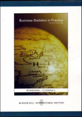 9780071108379: Business Statistics in Practice