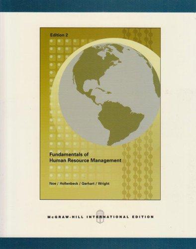 9780071108553: Fundamentals of Human Resource Management