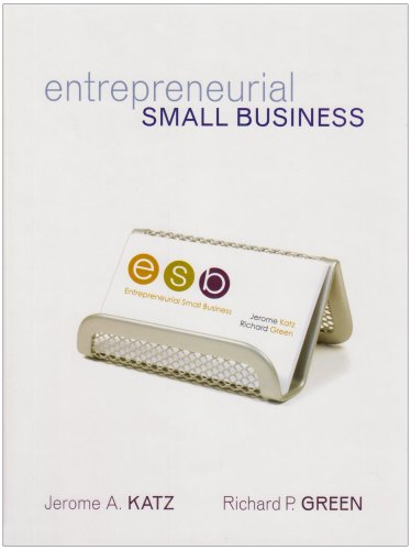 9780071108560: Entrepreneurial Small Business: With Student CD and OLC
